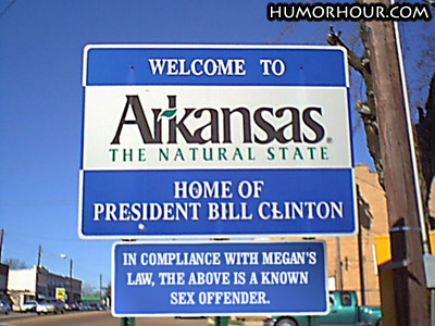 Home of President Bill Clinton