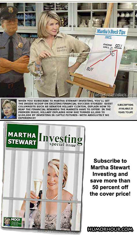 Subscribe to Martha Stewart Investing!