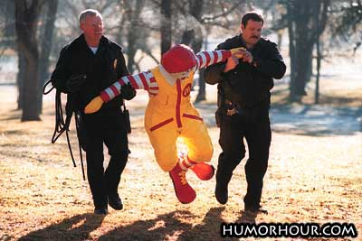 Ronald Is In Jail