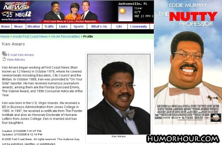 The Real Mr. Klump