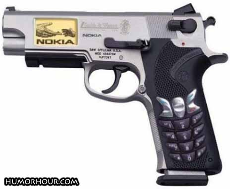The new Nokia gun