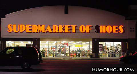 Supermarket of hoes?