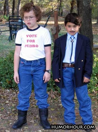 Napoleon And Pedro As Kids